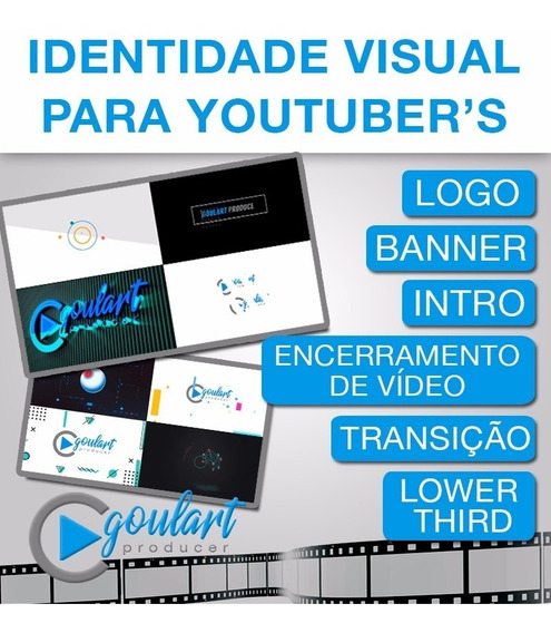 Kit Youtube - Identidade Visual Para Youtuber