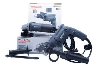 Kit Makita Miniesmeriladora M0901g + Rotomartillo M0801g