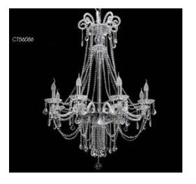 Araña Cristal Love - 8xe14 - Candil