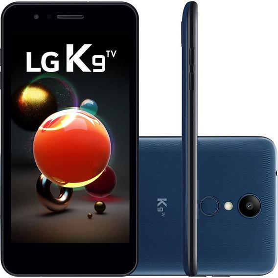 Celular Lg K9 Tv Azul Com 16gb, Tela 5.0 Hd, Android 7