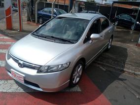 Honda Civic 1.8 Lxs Flex 4p Bem Conservado