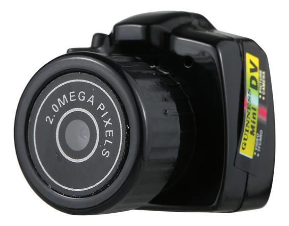 Mini Câmera De Vídeo Em Alta Definição Oculta Câmera