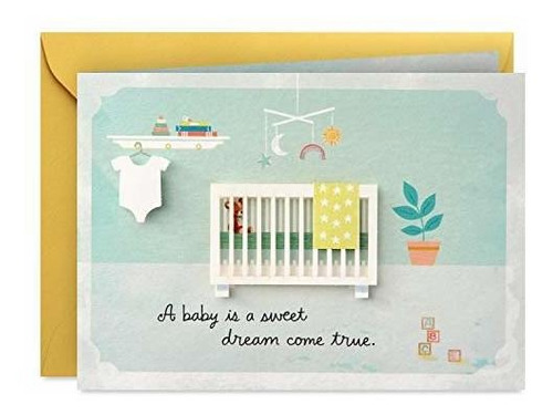 Imagen 1 de 2 de Tarjeta Para Babyshower Tarjeta Para Babyshowerhallmark Pape