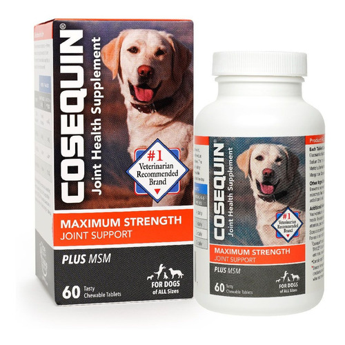 Cosequin Ds Plus 60 Cápsulas Suplemento Canino Nutramax