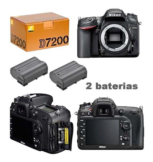Câmera Nikon D7200 Somente Corpo + Bateria Extra