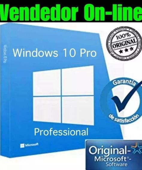 Licença { Windows 10pro} Envio Imediato+suporte Ativaçao On