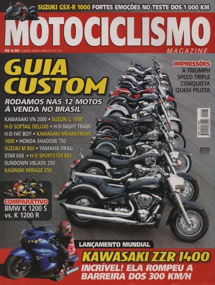 Motociclismo N°101 Guia Custom Shadow Drag Star Vblade Gsx-r