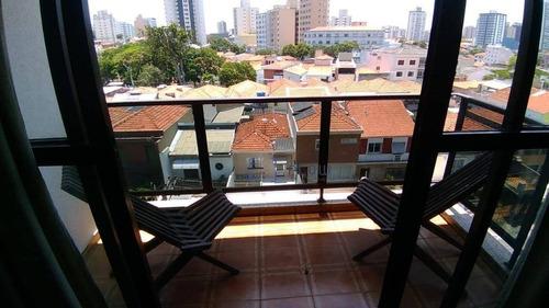Apartamento 120m², 3 Dormitorios, 1 Suíte, 2 Vagas - Mirandópolis - Ap9829