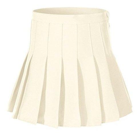 Faldas De Tenis De Mujer De Cintura Alta Plisadas, Talla