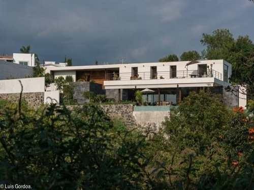 Casa De Lujo, Alberca Con Clima En Lomas De Cocoyoc