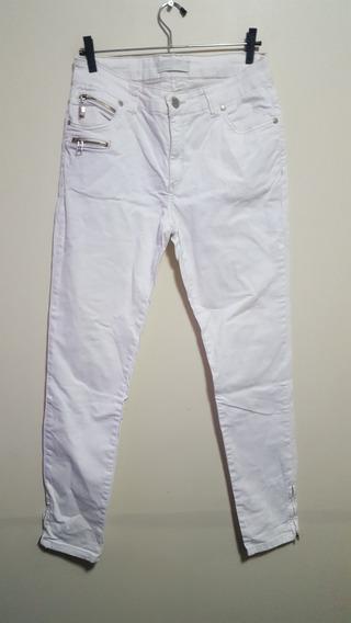Calça Jeans Feminina Branca Marfinno