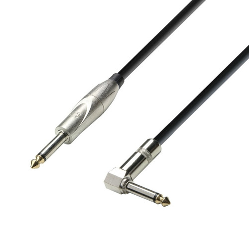 Cable Adam Hall K3ipr0600 Acodado A 90° 6 Mts Guitarra