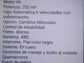 Pontiac G6 S Gxp Easytronic Piel Ba Cd 252 Hp 2009