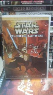 Dvd Original Do Filme Star Wars Clone Wars Volume 02