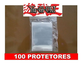 100 Protetores Card Munchkin Yu Gi Oh Sleeves Shields Tgc