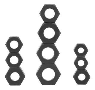 10 piezas de tornillo y tuerca removedor de llaves de z/ócalo Juegos de extractor Herramientas de kit de roscado