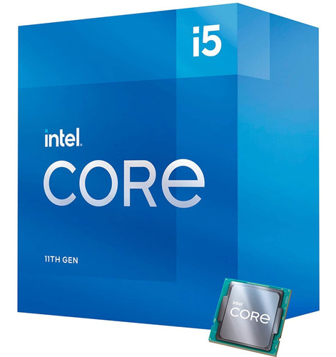Imagem 1 de 3 de Processador Intel Core I5-11400 12mb 2.6ghz 4.4ghz Lga 1200