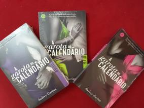 Kit 3 Livros: A Garota Do Calendário - Abril A Junho - Novos