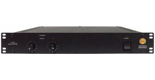 Potencia Amplificador Stereo P/ Shoppings Sansara Sl200 200w