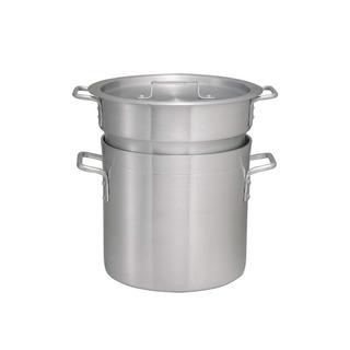Winco Aldb-8 Aluminio Doble Caldera Set , 8 Cuarto De Galón