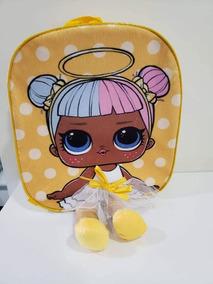 Mochila De Pelucia 3d Passeio Infantil Lol Surprise Angel