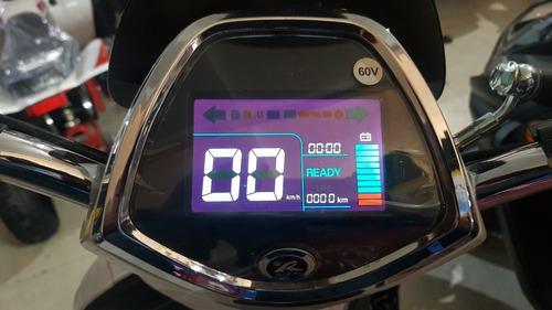 Moto Electrica Sunra Grace 800w Gel 0km Litio Extraible