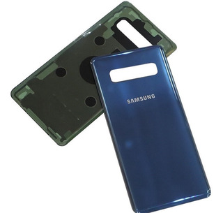 Tampa Vidro Traseiro + Lente Câmera Samsung Galaxy S10 Plus