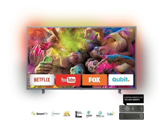 Smart Tv 65 4k Philips Con Ambilight Y Hdr 65pud6703/55