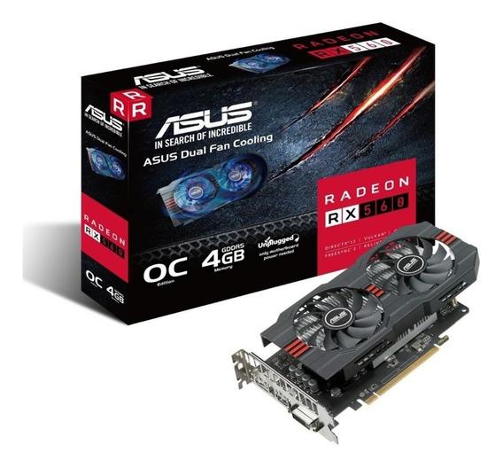 Placa De Video Ati Radeon Amd Rx 560 4gb Ddr5 Gaming Rx560