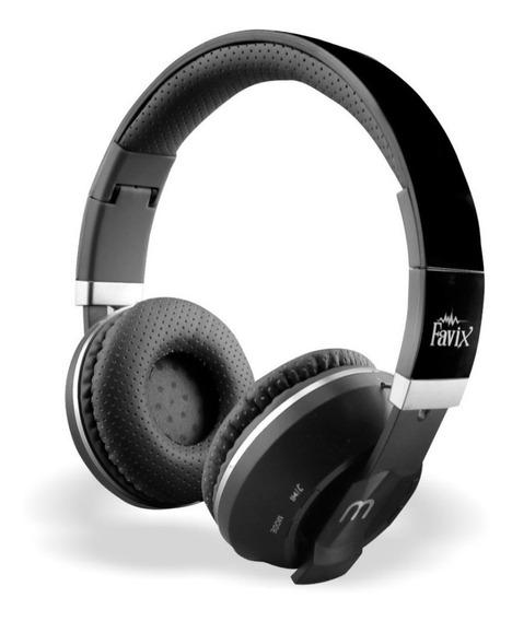 Fone De Ouvido Sem Fio Bluetooth Favix B09 Fm Micro Sd