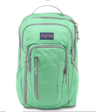 Mochila Jansport Beacon Seafoam Green Comoda Envio Gratis