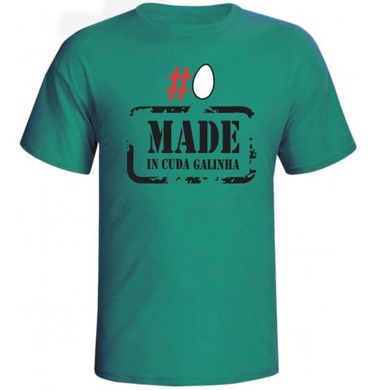 Camiseta Ovo Made In Cuda Galinha Masculina