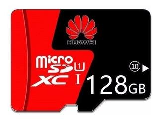 2 Cartões De Memória Microsd Huawei 128gb + Brinde