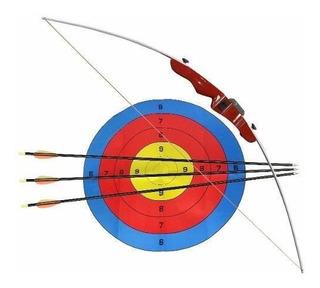 Arco E Flecha Tupy 14 Libras + 3 Flechas + Alvo - Nautika