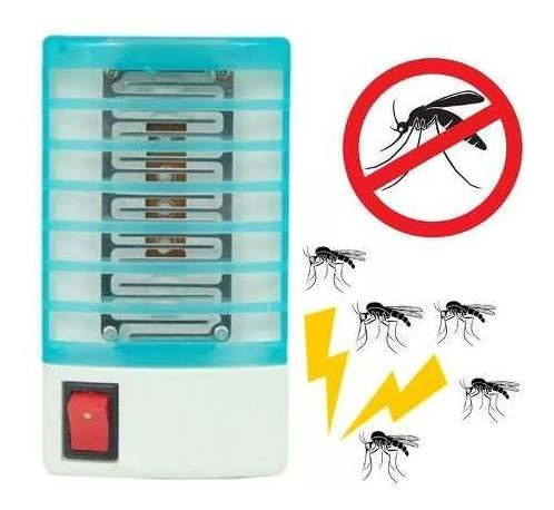 Imagem 1 de 10 de Luminaria Mata Mosquito Insetos Armadilha Lampada Eletrica