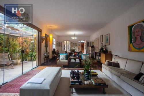 Casa Com 4 Dormitórios, 350 M² - Venda Ou Aluguel - Alto De Pinheiros - São Paulo/sp - Ca0281