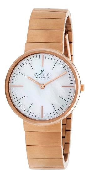 Relógio Oslo Ofrsss9t0007 B1rx Aco Inox Feminino