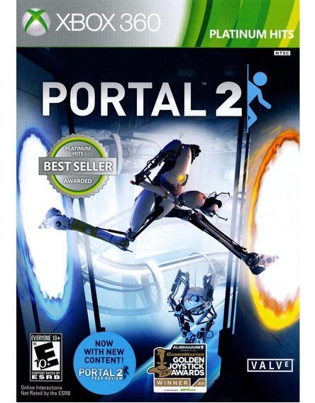 Jogo Novo Lacrado Midia Fisica Portal 2 Para Xbox 360