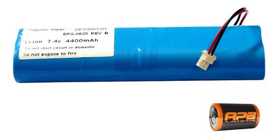 Bateria Gps Hiper 7,4v 4400mah Li-on