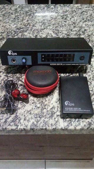Base Sem Fio Kdsw 500 + Fone Moxpad