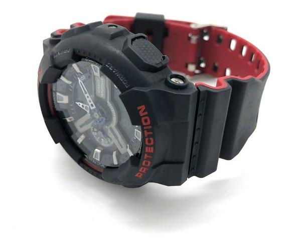 Relógio Casio G-shock Ga110 Na Lata E Manual - Leia Anúncio