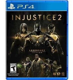 Juego Ps4 Injustice 2 Legendary Edition