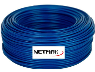 Cable De Red Ethernet Rollo 100 Metros Netmak Cat 6