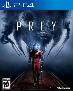 Prey Ps4 Juego Original Fisico Sellado Blu-ray En Stock