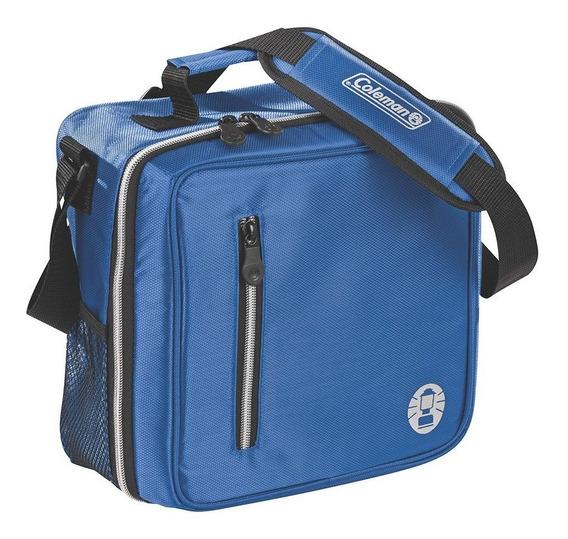 Hielera Flexible Messenger Azul Coleman Bw-13731