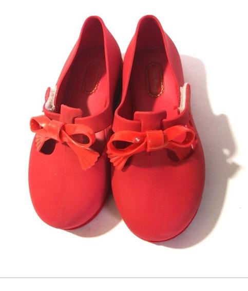 Estilo Minimelissa Zapato Para Niña Rojo