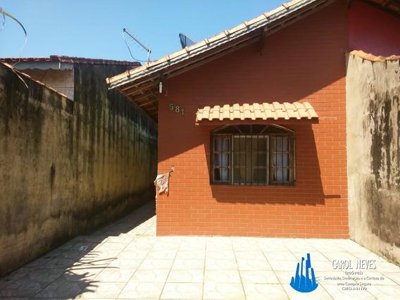 Casa 1 Dormitório Parceamento Direto Itaóca Mongaguá - 3873