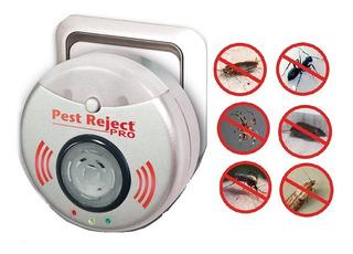 Repelente Ultrasonido Insectos Arañas Ratas Pests Pro 300m2