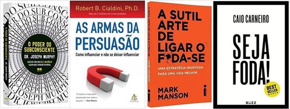 O Poder Do Subconsciente + As Armas Da Persuasão + 2 Livros