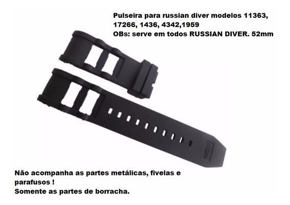 Pulseira Invicta Russian Diver 11363 17266 1436 4342 1959